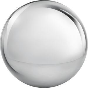 Dekokugel Lore aus Edelstahl in Silber