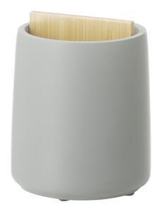 Zahnbürstenhalter Kim aus Stein/Bambus