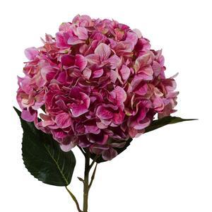 Kunstpflanze Hortensie in Pink