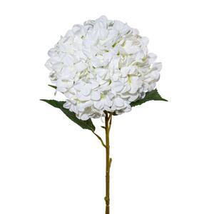 Kunstpflanze Hortensie in Weiß