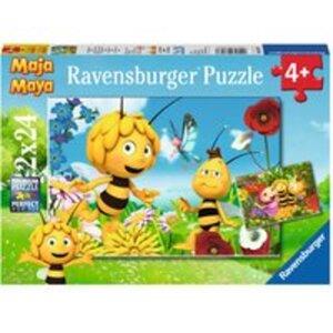Puzzle Biene Maja und ihre Freunde  2x24 Teile