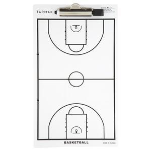 Taktikboard mit Filzstift Trainer Basketball