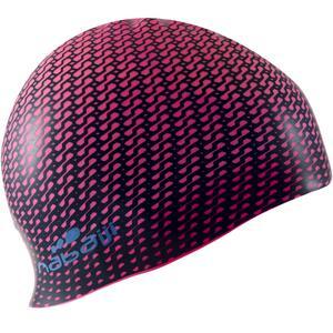 Badekappe Silikon Print Tec rosa