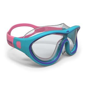 Schwimmmaske Swimdow Größe S blau/rosa