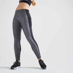 Leggings FTI 120 Fitness mit Smartphonetasche graumeliert