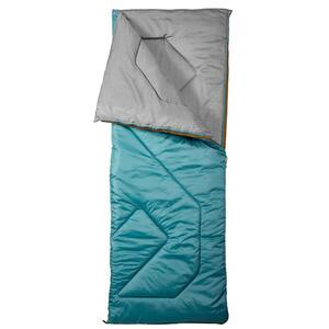 Schlafsack Camping Arpenaz 10°C türkis