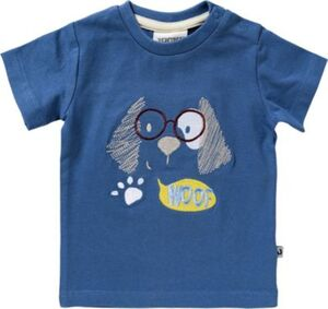T-Shirt  DOGS LIFE  blau Gr. 74 Jungen Baby