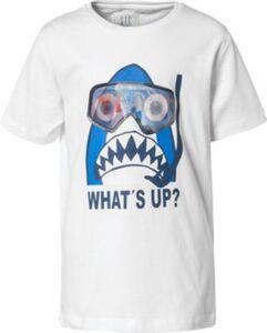 T-Shirt  weiß Gr. 104/110 Jungen Kleinkinder