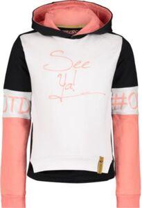 Sweatshirt  schwarz/weiß Gr. 110 Mädchen Kleinkinder