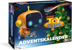 Adventskalender Super Toy Club 41 x 32,5 x 6,2cm blau