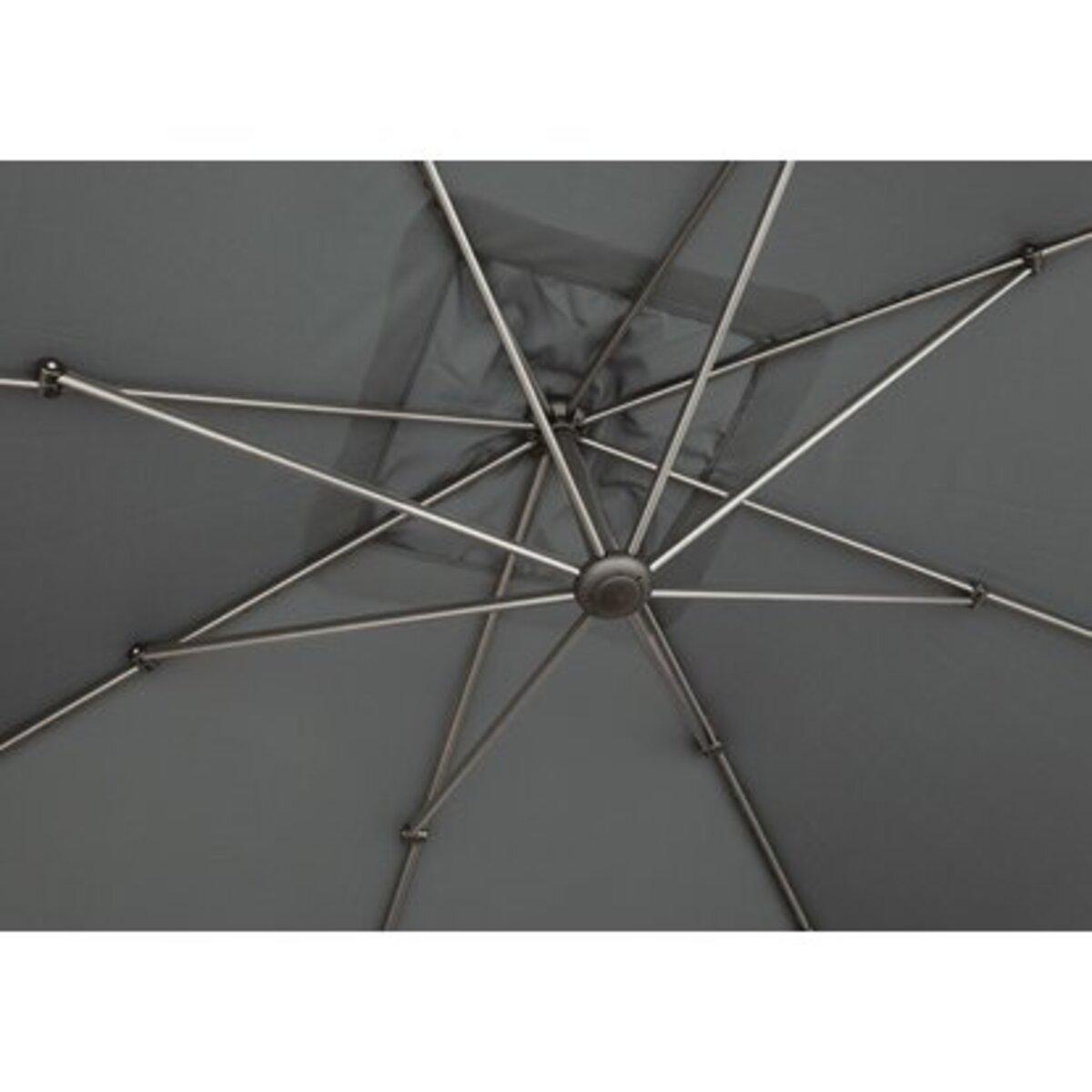 Bild 5 von Ampelschirm Peoria 300 cm x 300 cm Anthrazit mit Kurbel
