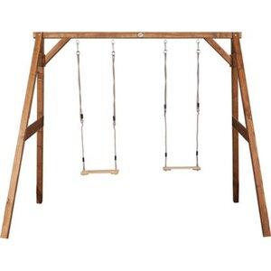 Schaukel Double Swing Braun