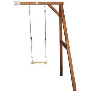Schaukel Single Swing Braun Wall-Mount