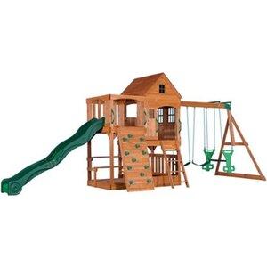 Spielturm- und Schaukel-Set Hill Crest