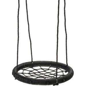 SwingKing Nestschaukel Ø 60 cm Schwarz
