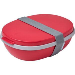 """Mepal Lunchbox """"Ellipse Duo"""", mikrowellentauglich, Deckel"""