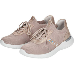 Remonte Sneakers, Stickart, Metallic, für Damen