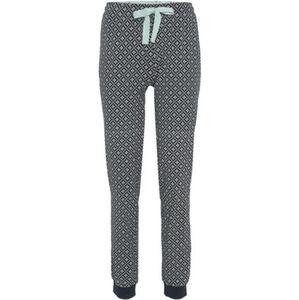 Desirée Schlafhose, lang, Mix & Match, Muster-Print, Gummibund, Tunnelzug, Baumwolle, für Damen