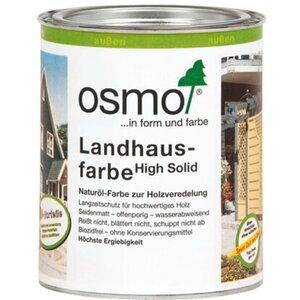 Osmo Landhausfarbe Weiss 750 ml