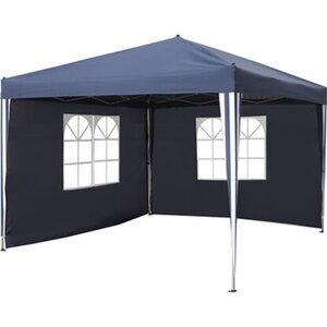 Faltpavillon Pontino Blau 295 cm x 295 cm