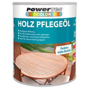 Powertec Color Holz-Pflegeöl