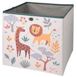 Aufbewahrungsbox mit Tier-Motiven
