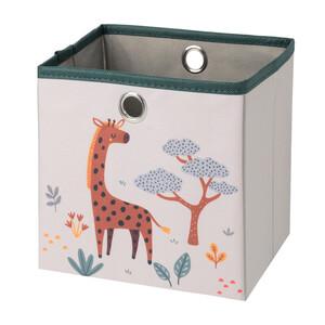 Kleine Aufbewahrungsbox mit Giraffen-Motiv