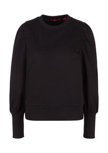 Damen Sweatshirt mit Rippbündchen