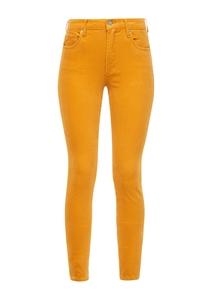 Damen Slim Fit: Hose aus Feincord