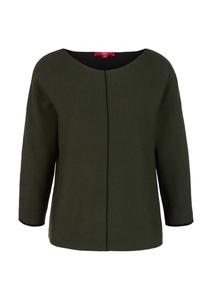 Damen Pullover mit Kontrast-Details