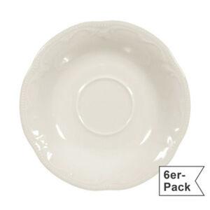 Seltmann Weiden Teeuntertasse Rubin Cream im 6er-Pack spülmaschinenfest #mikrowellengeeignet Uni