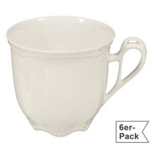 Seltmann Weiden Kaffeetasse Rubin Cream im 6er-Pack spülmaschinenfest #mikrowellengeeignet Uni