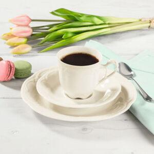 Seltmann Weiden Kaffeeservice 18-teilig Rubin Cream spülmaschinenfest #mikrowellengeeignet Uni