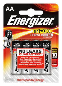 Energizer Mignon Batterie AA Max 4er-Pack