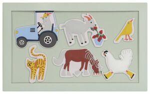 HEMA 6er-Pack Tiere Für Buchstaben-Klappkisten