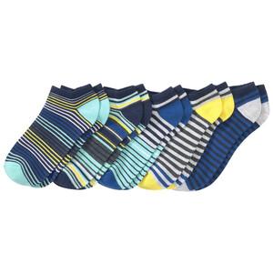 5 Paar Jungen Sneaker-Socken im Ringel-Look