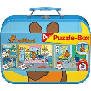 Puzzle-Box - Die Maus - 4-in-1