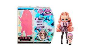 LOL Surprise O.M.G. Winter Chill Big Wig Fashion Doll & Madame Queen Puppe mit 25 Überraschungen