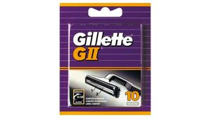 Gillette Klingen GII - 10 Stück