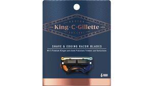 King C. Gillette Systemklingen 6er
