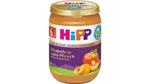 HiPP Bio Für kleine Feinschmecker Mirabelle in Apfel-Pfirsich