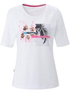 Rundhals-Shirt JOY Sportswear weiss Größe: 38