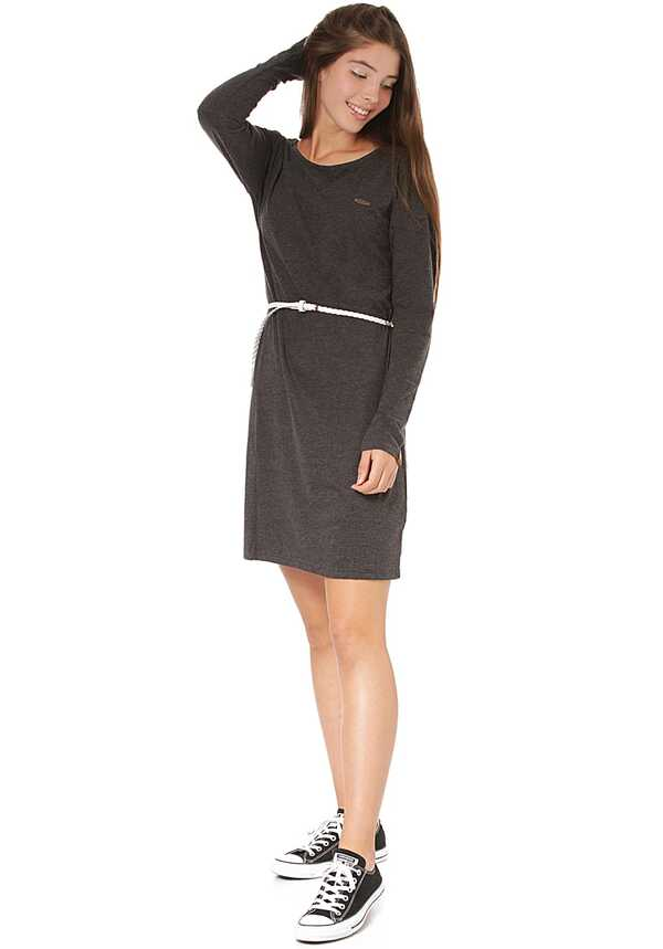 ALIFE AND KICKIN Elli LongAK - Kleid für Damen - Grau