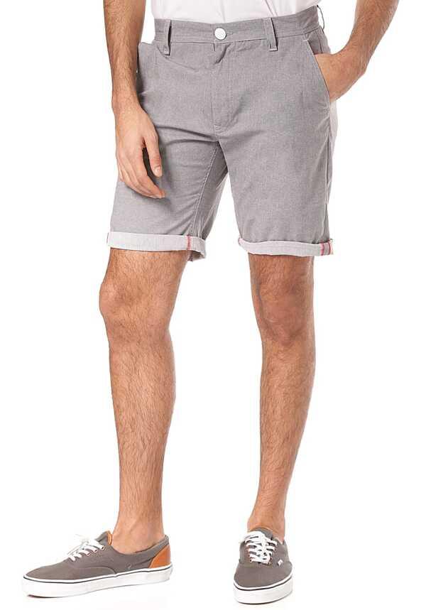 ragwear Liny - Chino Shorts für Herren - Grau