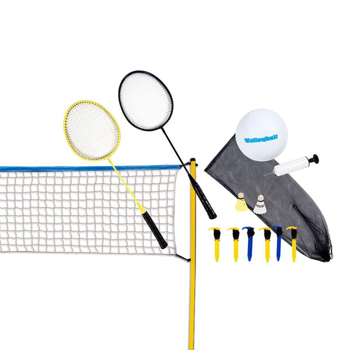 Bild 1 von Scatch Volleyball- und Badminton-Set