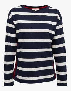 Esprit - Langarmshirt mit Streifen