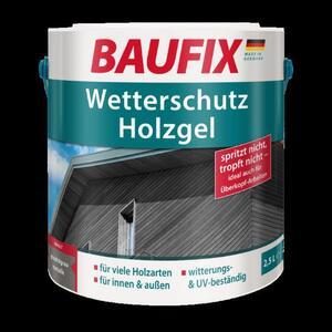 BAUFIX Wetterschutz-Holzgel graphitgrau metallic 2,5L