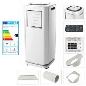 TroniTechnik mobiles Klimagerät Klimaanlage Husavik 7000 BTU
