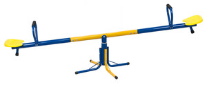 L.A. Sports 2in1 Kinderwippe Toni 360° Karussell-Wippe outdoor