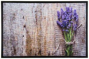 Lifetex Digitaldruck-Schmutzfangmatte, ca. 40 x 60 cm - Lavendel